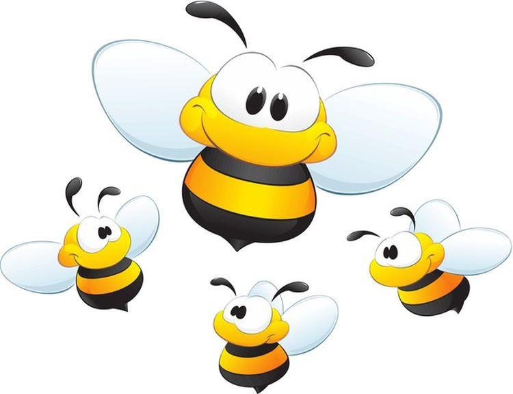 картинка креативные пчелки скай